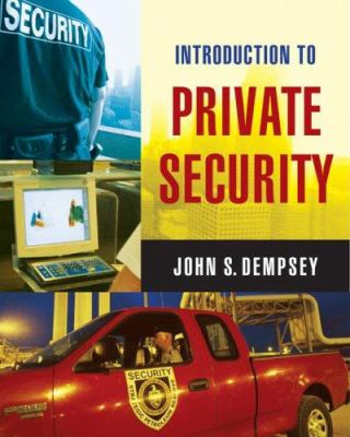 Introduction to Private Security 9780534558734
