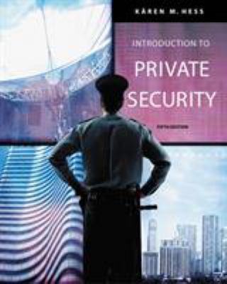 Introduction to Private Security 9780534632045