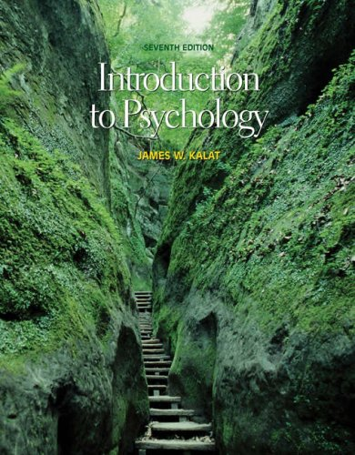 Introduction to Psychology [With CDROM and Infotrac] 9780534624620
