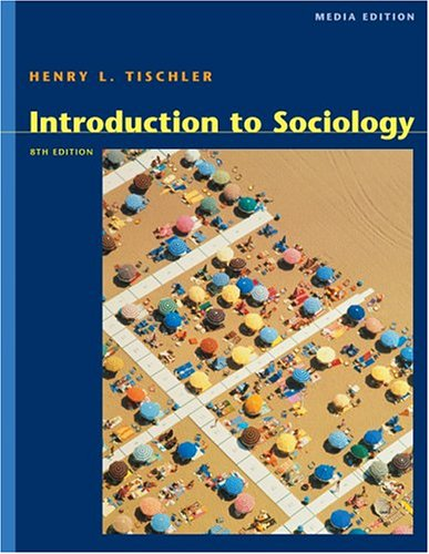 Introduction to Sociology [With CDROM] 9780534619923