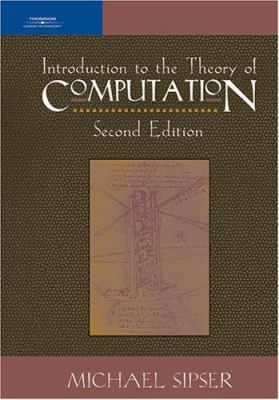 Introduction to the Theory of Computation 9780534950972