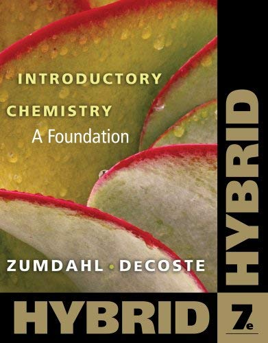 Introductory Chemistry: A Foundation, Hybrid (with eBook in Owl Printed Access Card) [With Access Code] 9780538757089