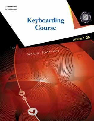 Keyboarding Course, Lessons 1-25 [With CDROM] 9780538731324