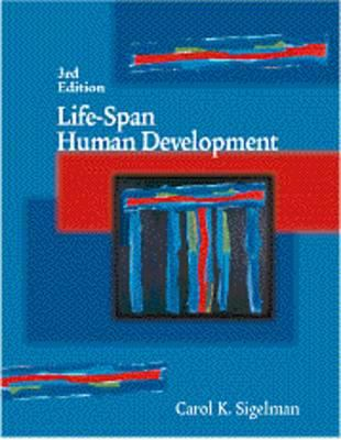 Life Span Human Development [With Infotrac] 9780534354428