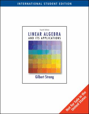 essays in linear algebra gilbert strang More about gilbert strang bestselling books: introduction to linear algebra, by gilbert strang  essays in linear algebra 26 apr 2012 by gilbert strang hardcover.