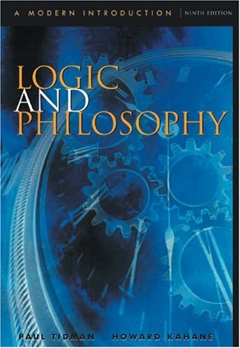 Logic and Philosophy: A Modern Introduction 9780534561727