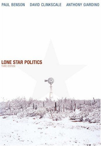 Lone Star Politics [With Infotrac] 9780534620912