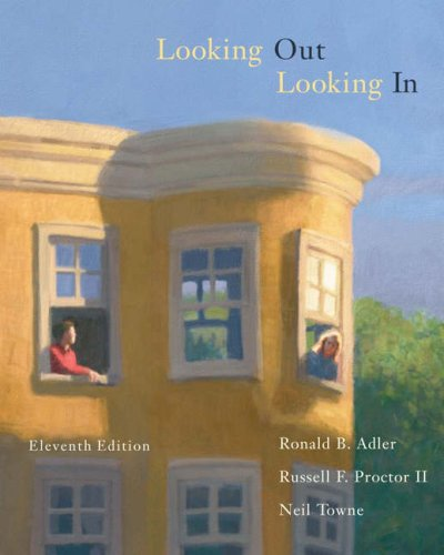Looking Out, Looking in [With CDROM and Infotrac] 9780534636289