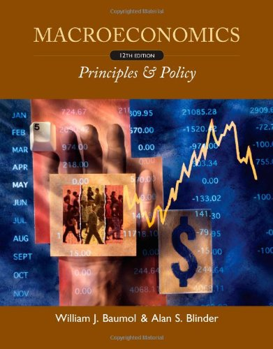 Macroeconomics: Principles & Policy 9780538453653