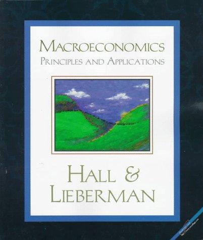 Macroeconomics: Princ & Appl 1e 9780538847599