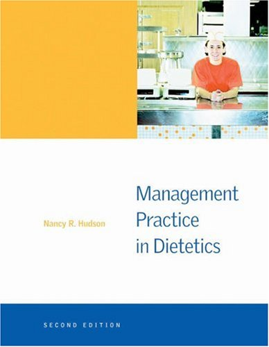 Management Practice in Dietetics 9780534516574