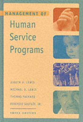 Management of Human Service Programs 9780534368869
