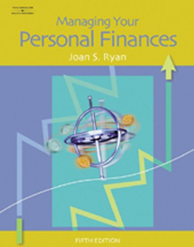 Managing Your Personal Finances 9780538441759