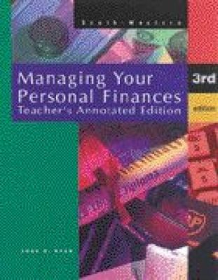 Managing Your Personal Finances 9780538628969