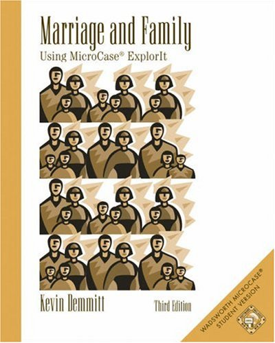 Marriage and Family: Using Microcase Explorit [With CDROM] 9780534600396
