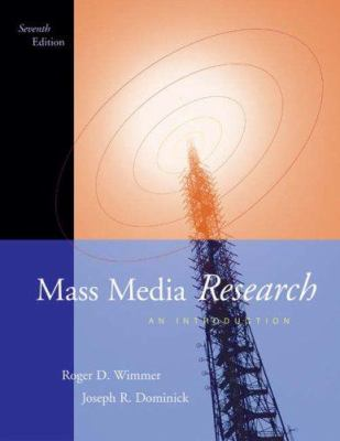 Mass Media Research: An Introduction 9780534563035