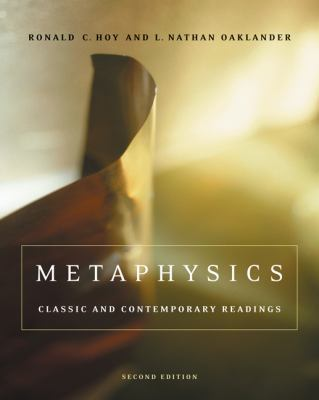 Metaphysics: Classic and Contemporary Readings 9780534641344