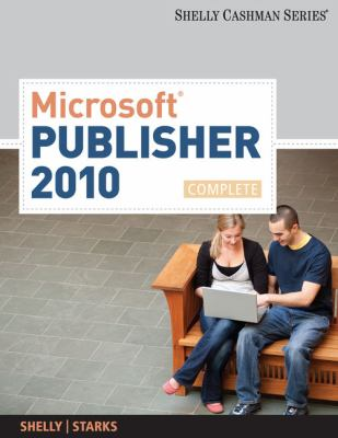 Microsoft Publisher 2010, Complete 9780538746434