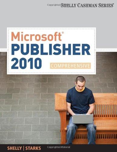 Microsoft Publisher 2010, Comprehensive 9780538475983