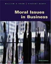 Moral Issues in Business [With Infotrac]