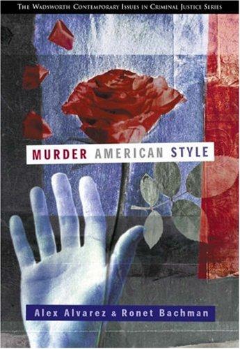 Murder American Style 9780534534707