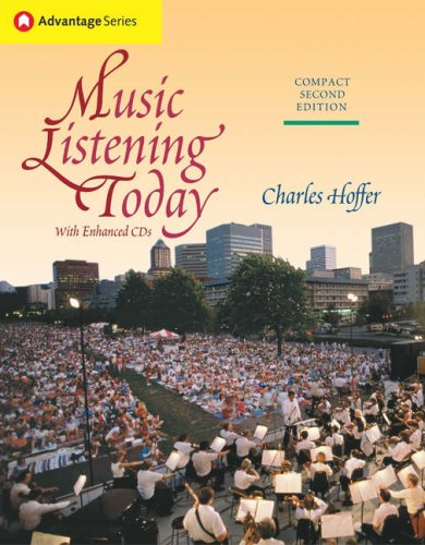 Music Listening Today [With CD] 9780534516154