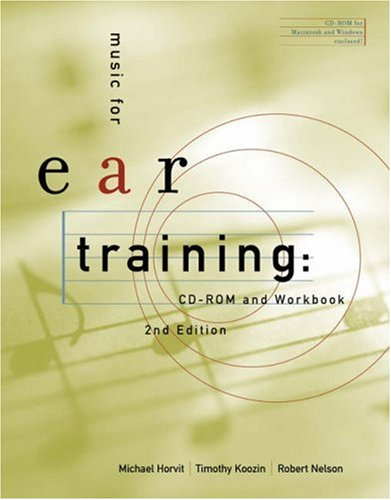 Music for Ear Training [With CDROM and Workbook] 9780534627669
