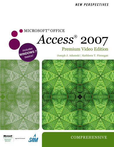 New Perspectives on Microsoft Office Access 2007, Comprehensive [With DVD] 9780538475280
