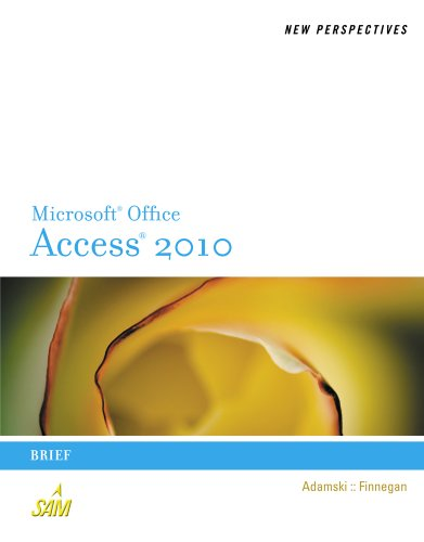 New Perspectives on Microsoft Office Access 2010, Brief 9780538798495