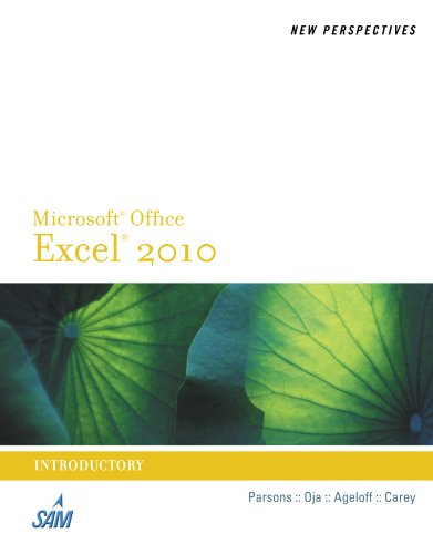 New Perspectives on Microsoft Excel 2010, Introductory 9780538742399