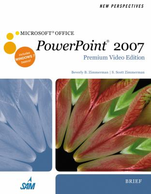 New Perspectives on Microsoft Office PowerPoint 2007, Brief [With DVD] 9780538476072