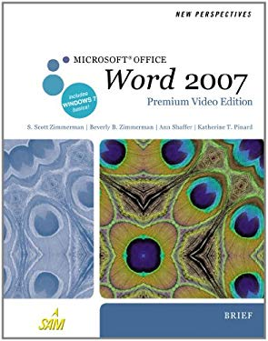New Perspectives on Microsoft Office Word 2007, Brief [With DVD] 9780538475945