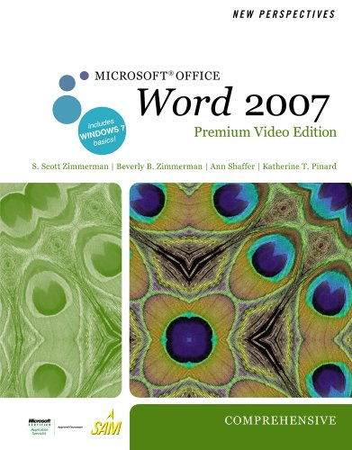 New Perspectives on Microsoft Office Word 2007, Comprehensive [With DVD] 9780538475921