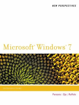 New Perspectives on Microsoft Windows 7-Introductory 9780538746014