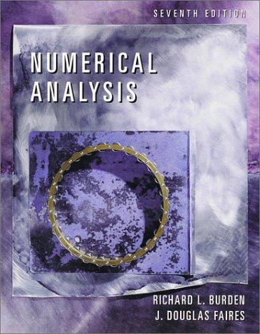 Numerical Analysis - 7th Edition