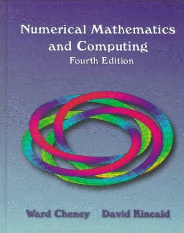 Numerical Mathematics and Computing 9780534351847