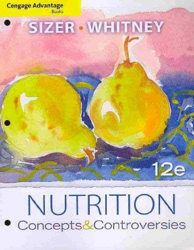 Nutrition: Concepts & Controversies 9780538496834