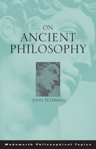 On Ancient Philosophy 9780534595722