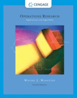 Operations Research: Applications and Algorithms (with CD-ROM and Infotrac) [With CDROM and Infotrac]