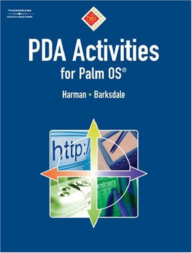 PDA Activities for Palm OS 9780538729079