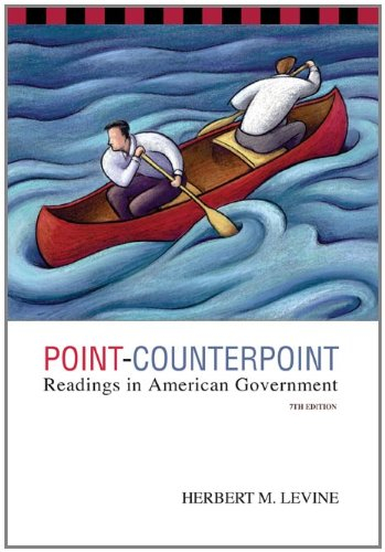 Point-Counterpoint: Readings in American Government 9780534614164