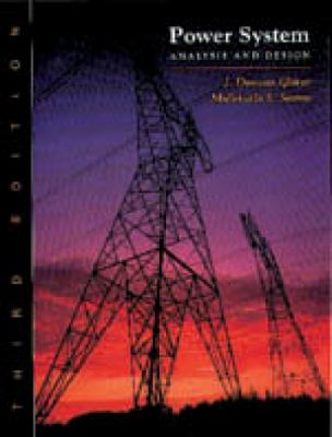Power System Analysis and Design [With CDROM] 9780534953676