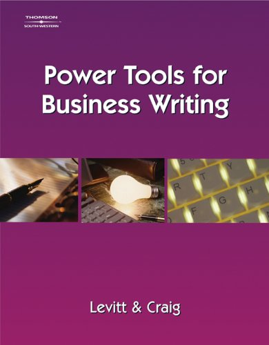 Power Tools for Business Writing 9780538728751