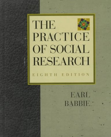 Practice of Social Research 9780534504687