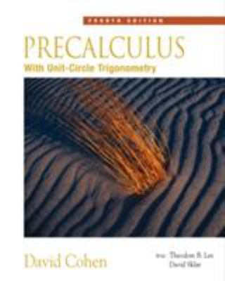 Precalculus: With Unit Circle Trigonometry (with CD-ROM and Ilrn Tutorial) [With CDROM] 9780534402303