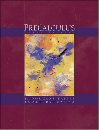 Precalculus [With Infotrac]