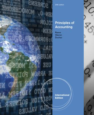 accounting by carl s warren james m reeve jonath Cengagenowv2 for warren's financial & managerial accounting, 13th edition, [instant access], 2 terms 13th edition by carl s warren james m reeve jonathan duchac and publisher cengage learning.