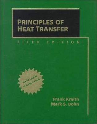 Principles of Heat Transfer 9780534954208