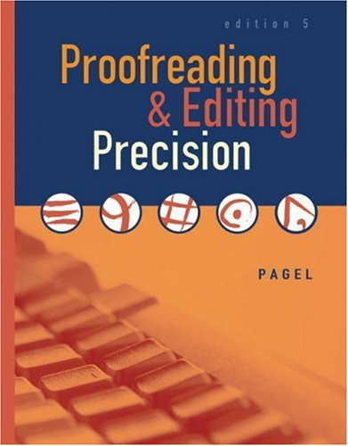 Proofreading & Editing Precision [With CDROM] 9780538442480