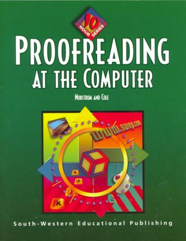Proofreading at the Computer: 10 Hour Series 9780538689243